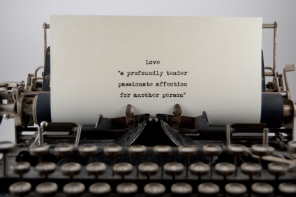 LoveDefinitionInTypewriter1